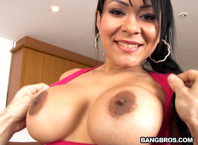 Big ass and tits latina gets fucked